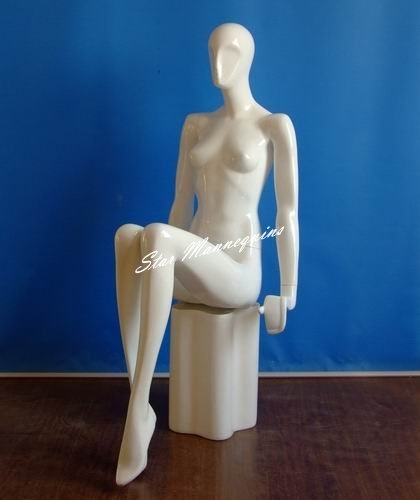 Sitting Female Mannequin SFM-004