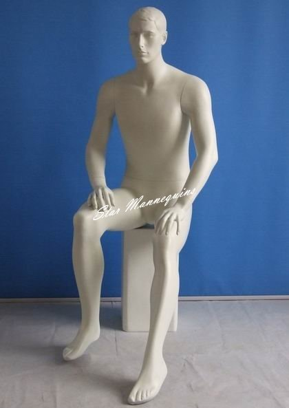 Sitting Male Mannequin SMM-006