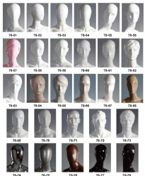 Abstract Mannequins Heads Series