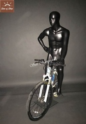 Male Bicycle Mannequin
