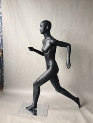 Running Female Mannequin with Head