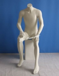 Sitting Male Mannequin SMM-007