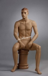 Sitting Male Mannequin SMM-008
