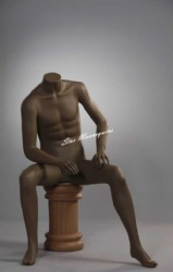 Sitting Male Mannequin SMM-009